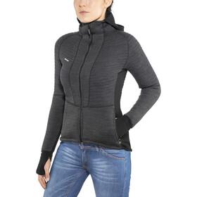 Devold Tinden Spacer Jacket with Hood Damen anthracite